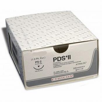 Hechtmateriaal Ehicon PDS 4/0 met naald FS2S per 24 stuks