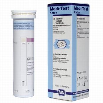 Medi-Test Ketonen, 50 teststroken