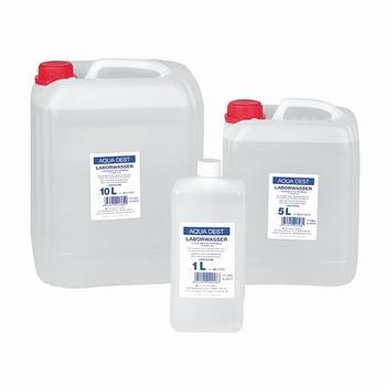 Aqua Dest - laboratoriumkwaliteit - 5 liter