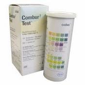 Combur 7 Test, Roche, flacon 100 teststrookjes