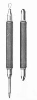 Dubbel ooginstrument Faber Medical lisje en magneet