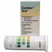 Combur 3 Test , Roche, flacon 50 teststrookjes