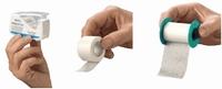 HEKAPOR non-woven hechtpleister 2,5cmx5m, met ring per rol