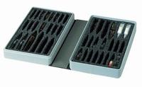 Ampullenetui, compact model voor 42 ampullen, zwart