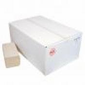Handdoekjes Z-fold 23x25cm - 1 laags - naturel, 20x250 stuks