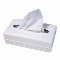 Facial tissues dispenser, kunststof wit