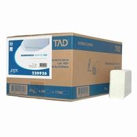 Handdoekjes minifold cellulose 2 laags - 20 bundels