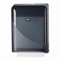 Handdoekdispenser Z-fold Pearl Black