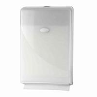 Handdoekdispenser Slimfold Pearl White