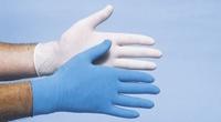 Handschoenen CMT latex licht gepoederd XL 100 stuks
