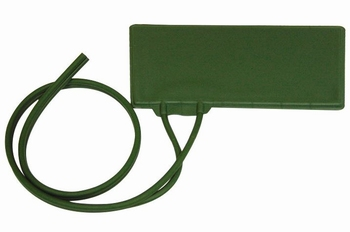 Binnenmanchet 2 slangen groen, Erka, volwassen, 23x12cm