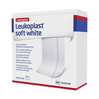 Leukoplast soft 5m x 4cm - per rol