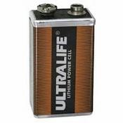 Lithium batterij 9V voor de Defibtech Lifeline AED