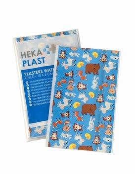 Hekaplast wondpleister kids 10x6cm - 10 stuks/zak