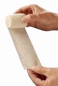HEKACRÊPE elastisch fixatiewindsel, 4mx6cm - 10 rollen