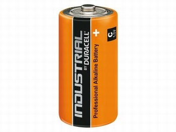 Batterij Duracell Industrial C-Cell, per stuk