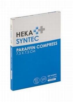 Heka Syntec zalfkompres 7,5x7,5cm - verpakt per 10 stuks