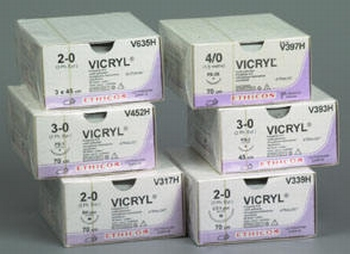 Hechtmateriaal Ethicon Vicryl Rapide 3.0, naald FS-1-per 36