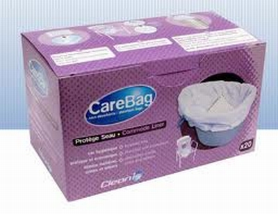 Carebag voor ondersteek op rol, 20 stuks