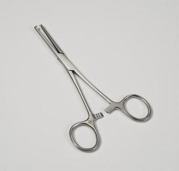 Arterieklem Kocher 14cm RVS, steriel, verp. 25st.