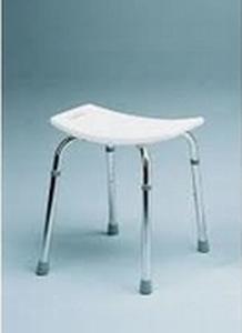 Douchekruk aluminium in hoogte verstelbaar 38-48cm