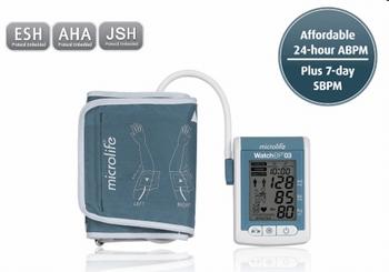 Microlife 24-uurs bloeddrukmonitor, AFIB met software