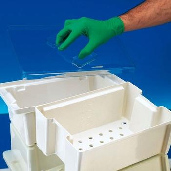 Instrumentenbak voor desinfectie, met zeef, 4Ltr.