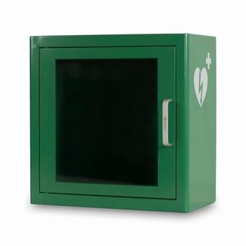 Arky AED basic wandkast groen - met alarm