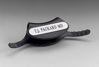 Naamplaatje zwart voor Littmann stethoscoop