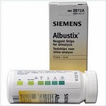 Albustix teststrips