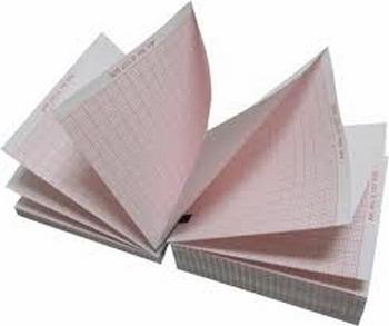 ECG papier voor Esaote P8000P 280x210m, verpakt per 10 stuks