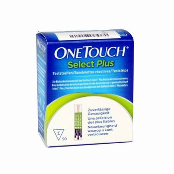One Touch Select Plus teststrips