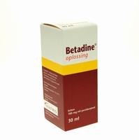 Betadine oplossing 30ml per stuk