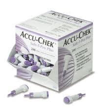 Accu-Chek Safe T-Pro Plus bloedlancetten per 200 stuks
