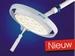 Plafond model Mach LED 130F,focusseerbaar,swing plafond arm