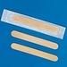 Tongspatels hout Mediclean steriel per stuk verpakt,50 stuks