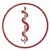 Aesculaapteken rood (arts) per stuk