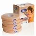 Cure Tape beige - 2.5cmx5m - per doos van 12 rollen