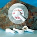 ECG elektrode met adapter drukknop bananenstekker per stuk
